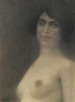 nu-aux-cheveux-noirs-fernand-khnopff