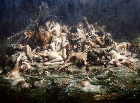 Leon Comerre – Le Deluge – 1911