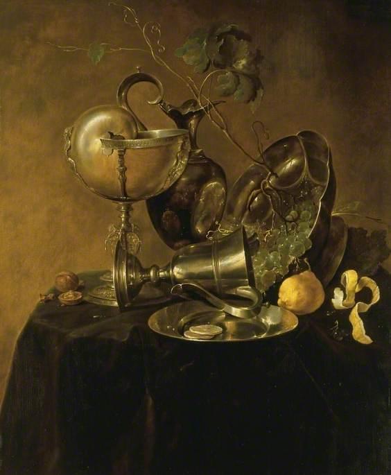 de Heem, Jan Davidsz.; Still Life with a Nautilus Cup