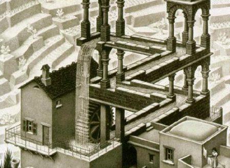 Maurits Cornelis Escher – Waterfall Medium – 1961