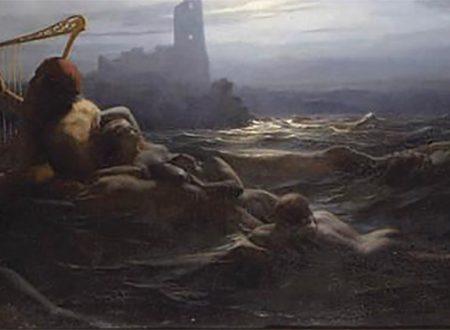Nils Johan Olsson Blommer – Lo spirito dell'acqua e le figlie di Agir – 1850