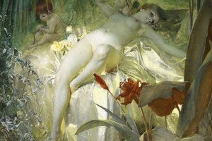 Anders Zorn – The Love Nymph – 1885