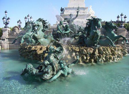 La Fontana Monumento Ai Girondini  di  Bordeaux – 1902