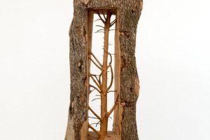 Giuseppe Penone – L'albero scolpito nel legno