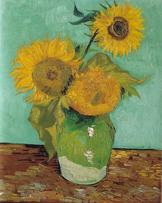 Mazzo Di Fiori Van Gogh.Vincent Van Gogh Il Mito Del Campo Dei Girasoli Mcarte L