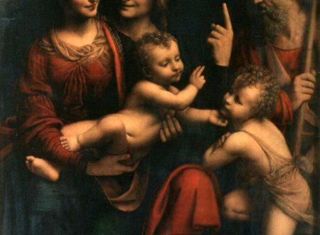 Il Cartone di Leonardo realizzato da Bernardino Luini