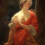 Godfried Schalcken – Diana E Le Sue Ninfe In Una Radura –  1680/85