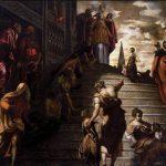 La Presentazione della Vergine Al Tempio  – Tintoretto – 1551/1556
